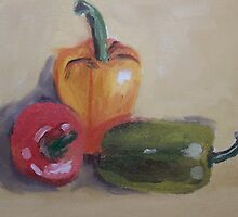 Still Life Lesson  by Dana  Renault
