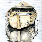 Wagtail - Little boat of Lyme by Ally Tate