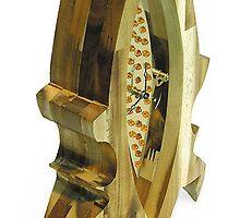 mantel clock Vesna by matej zorec