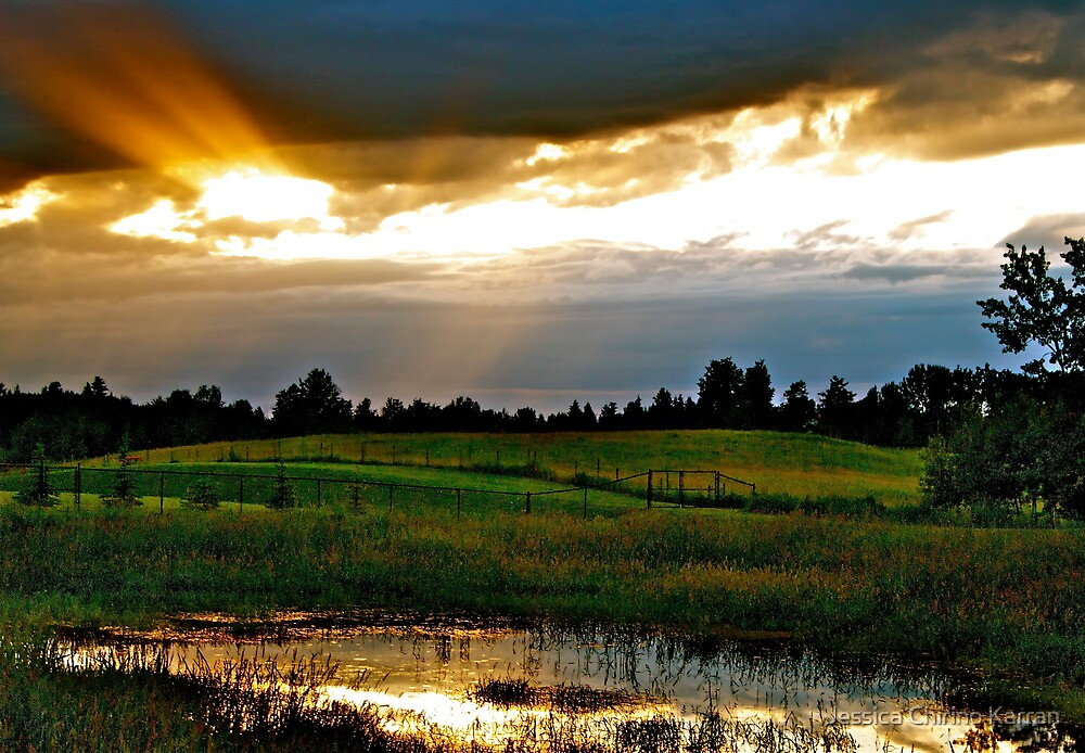 Sun breaks Through, Alberta by Jessica Karran