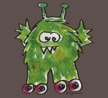 Funny Cartoon Monstar 011 Kids Clothes