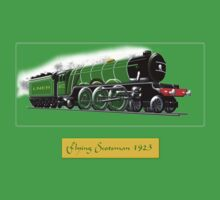 Steam Locomotive - The Flying Scotsman 1923 Baby Tee