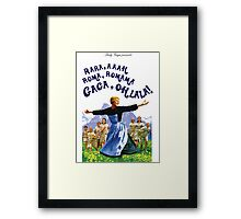 The Hills Are Alive With The Sound Of Gaga Framed Print