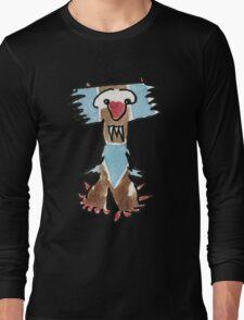 Funny Cartoon Monstar 015 Long Sleeve T-Shirt