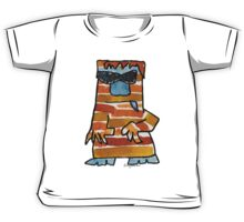 Funny Cartoon Monstar 016 Kids Tee
