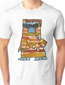 Funny Cartoon Monstar 016 Unisex T-Shirt