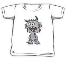 Funny Cartoon Monstar 017 Kids Tee
