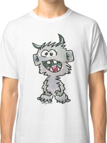 Funny Cartoon Monstar 017 Classic T-Shirt
