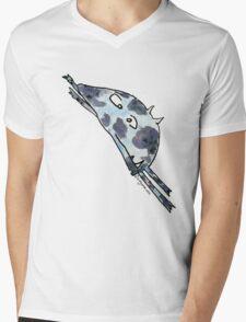 Funny Cartoon Monstar 018 Mens V-Neck T-Shirt