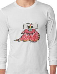 Funny Cartoon Monstar 019 Long Sleeve T-Shirt