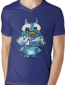 Funny Cartoon Monstar Monster 020 Mens V-Neck T-Shirt