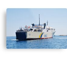 ANES Lines ferry Proteus Metal Print