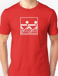 Team Rowing Sports Pictogram T-Shirt