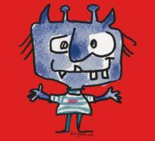 Funny Cartoon Monstar 022 Kids Clothes