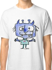 Funny Cartoon Monstar 022 Classic T-Shirt