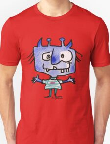Funny Cartoon Monstar 022 Unisex T-Shirt