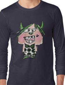 Funny Cartoon Monstar Monster 024 Long Sleeve T-Shirt