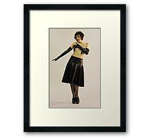 Ms Harlot DeVille Framed Print