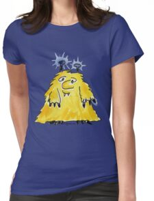 Funny Cartoon Monstar Monster 029 Womens Fitted T-Shirt