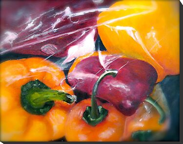In The Bag...Peppers by © Janis Zroback