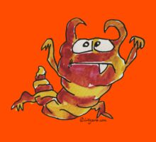 Funny Cartoon Monstar 031 Kids Tee