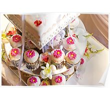Wedding Cup Cakes Poster