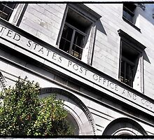 Old Savannah Post Office by Cyn Piromalli