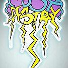 Must Destroy - Lightning Strike - Print by Anna Beswick