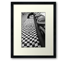 Checkered Flag Framed Print