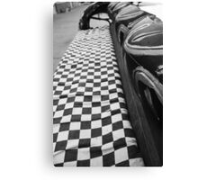 Checkered Flag Canvas Print