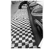 Checkered Flag Poster