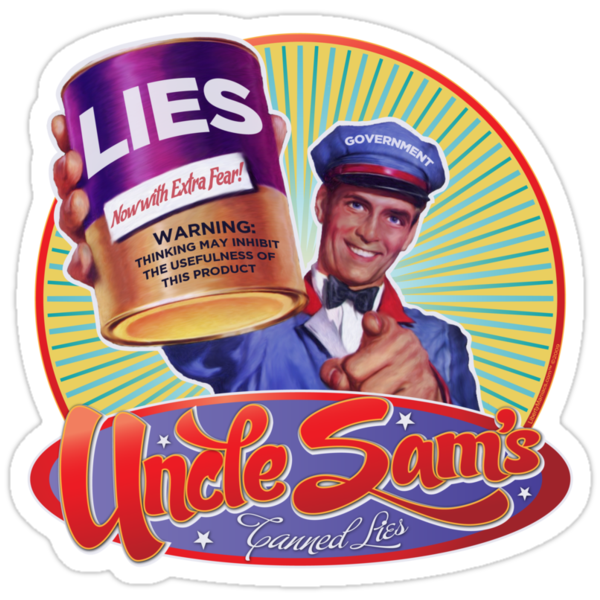 Government Lies by LibertyManiacs