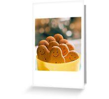 pot of smiles.. Greeting Card