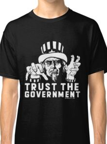 Trust Government Zombie Uncle Sam Classic T-Shirt