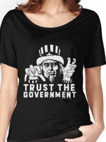 Trust Government Zombie Uncle Sam Women's Relaxed Fit T-Shirt