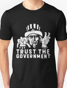 Trust Government Zombie Uncle Sam T-Shirt