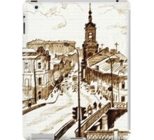 old town iPad Case/Skin