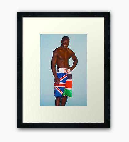 Eric The Eagle Framed Print