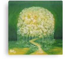 Dream Floating  Canvas Print