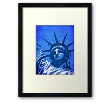 Liberty of New York Framed Print