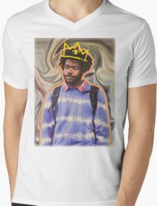 Lost in Thought Mens V-Neck T-Shirt