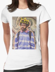 Lost in Thought Womens Fitted T-Shirt