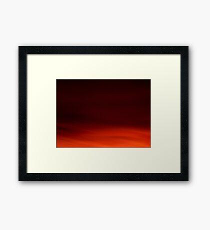 Deeper and Deeper Framed Print