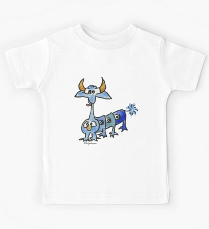 Funny Cartoon Monstar 033 Kids Tee