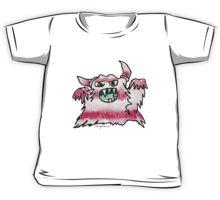 Funny Cartoon Monstar Monster 038 Kids Tee