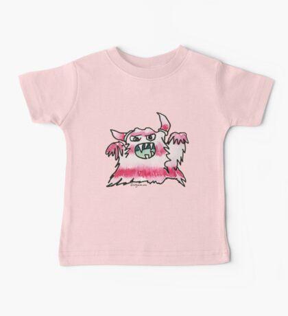 Funny Cartoon Monstar Monster 038 Baby Tee