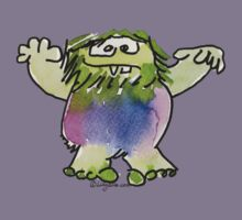 Funny Cartoon Monstar 042 Kids Clothes