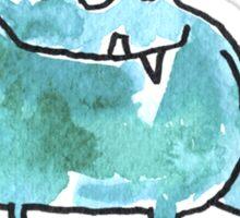 Funny Cartoon Monstar 045 Sticker