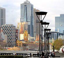Melbourne in July by Nicki Baker