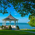 Niagara River Gazebo by (Tallow) Dave  Van de Laar